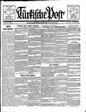 Türkische Post vom 29.01.1935