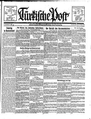 Türkische Post vom 30.01.1935