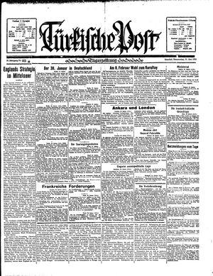 Türkische Post vom 31.01.1935