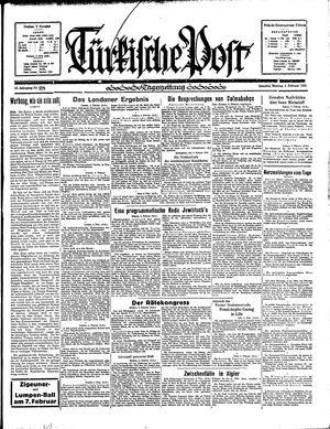 Türkische Post vom 04.02.1935