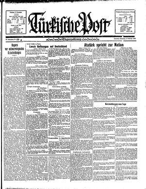 Türkische Post vom 05.02.1935