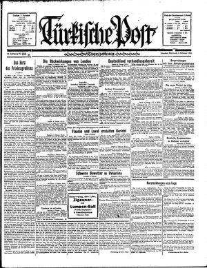 Türkische Post vom 06.02.1935
