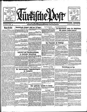 Türkische Post vom 07.02.1935