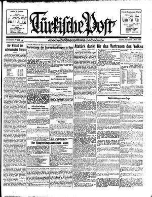Türkische Post vom 09.02.1935