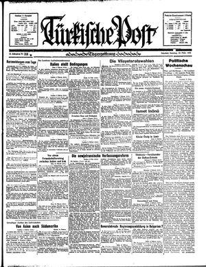 Türkische Post vom 10.02.1935