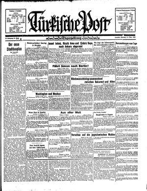 Türkische Post vom 11.02.1935