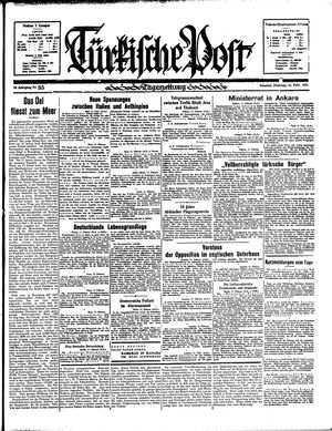 Türkische Post on Feb 12, 1935