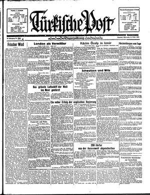 Türkische Post vom 13.02.1935