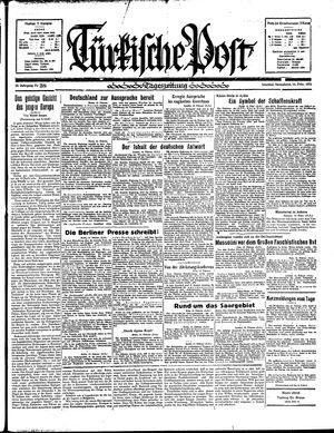 Türkische Post vom 16.02.1935