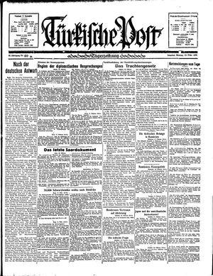 Türkische Post vom 18.02.1935