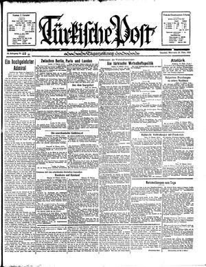Türkische Post on Feb 20, 1935