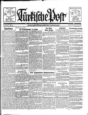 Türkische Post vom 21.02.1935