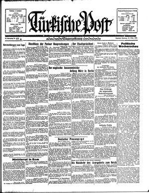 Türkische Post vom 24.02.1935