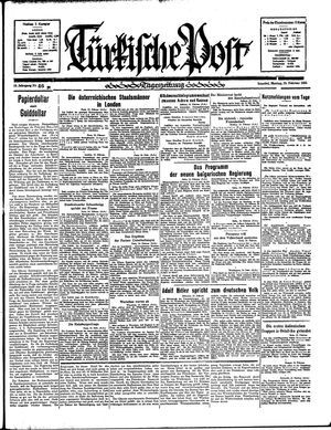 Türkische Post vom 25.02.1935