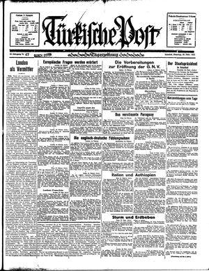 Türkische Post vom 26.02.1935