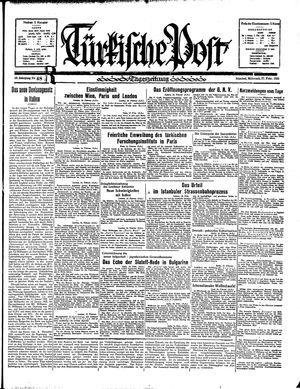 Türkische Post vom 27.02.1935