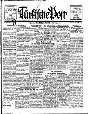 Türkische Post vom 03.03.1935