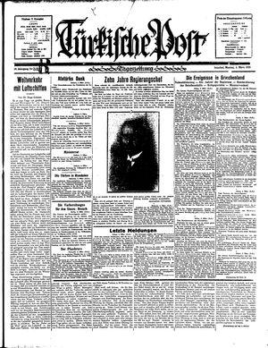 Türkische Post vom 04.03.1935
