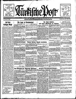 Türkische Post vom 06.03.1935
