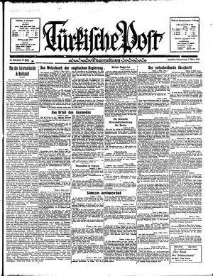 Türkische Post vom 07.03.1935