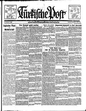 Türkische Post vom 09.03.1935
