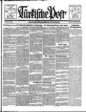 Türkische Post vom 10.03.1935