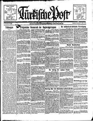 Türkische Post vom 12.03.1935