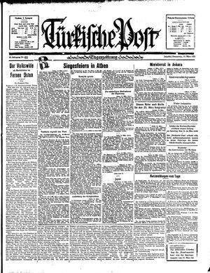 Türkische Post vom 14.03.1935