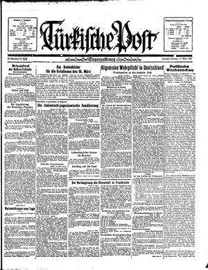 Türkische Post vom 17.03.1935