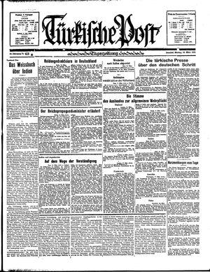 Türkische Post vom 18.03.1935