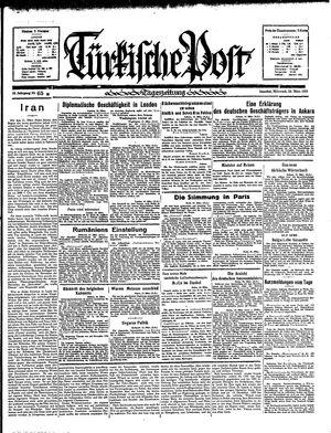 Türkische Post vom 20.03.1935