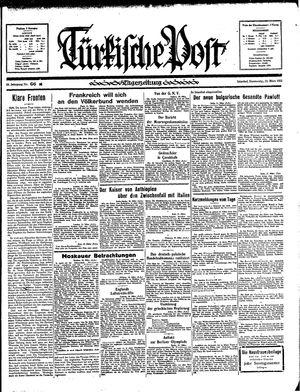 Türkische Post on Mar 21, 1935