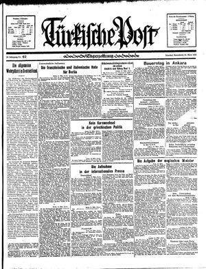 Türkische Post vom 23.03.1935