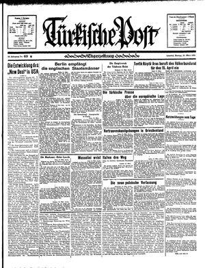 Türkische Post vom 25.03.1935