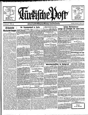 Türkische Post vom 26.03.1935