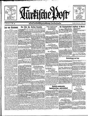 Türkische Post vom 28.03.1935