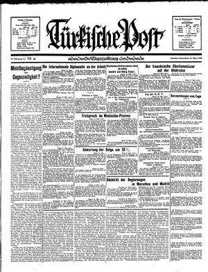 Türkische Post vom 30.03.1935