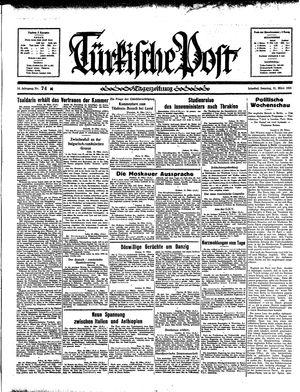 Türkische Post vom 31.03.1935