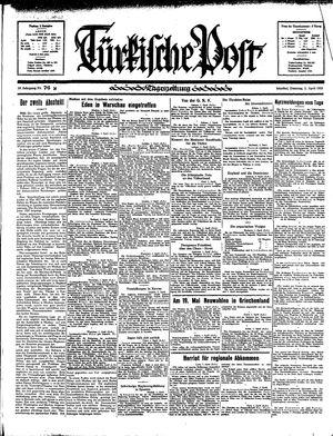 Türkische Post vom 02.04.1935