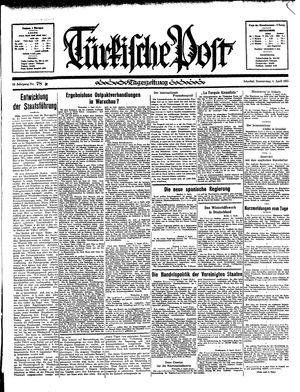 Türkische Post vom 04.04.1935
