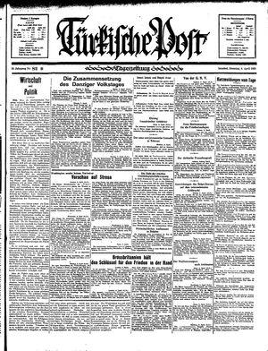 Türkische Post vom 09.04.1935