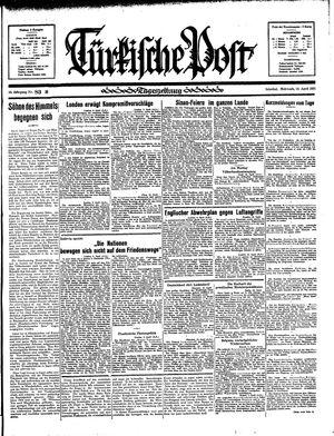 Türkische Post vom 10.04.1935