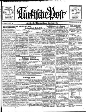 Türkische Post vom 16.04.1935