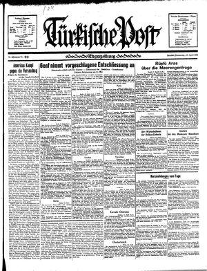 Türkische Post vom 18.04.1935