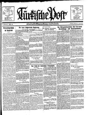 Türkische Post vom 23.04.1935