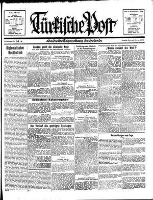 Türkische Post vom 24.04.1935