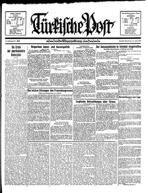 Türkische Post vom 25.04.1935