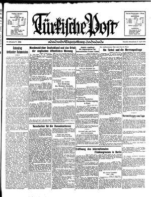 Türkische Post vom 27.04.1935