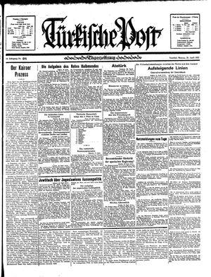 Türkische Post vom 29.04.1935
