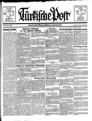 Türkische Post vom 30.04.1935